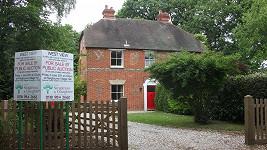Dům, kde Kate prožila své dětství, je na prodej.