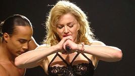 Madonna na koncertě v Miami.