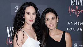 Demi Moore s nejstarší dcerou Rumer