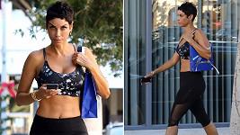Nicole Mitchell Murphy má rok před padesátinami postavu jako atletka.