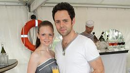 Michal Foret s přítelkyní.