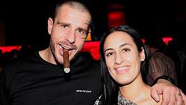 Robert Rosenberg s expřítelkyní Kristýnou Kinskou.