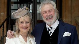 Twiggy s manželem Leighem Lawsonem