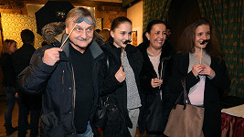 Pavel Soukup s manželkou a dcerami