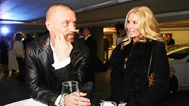 Tomáš Řepka se stále ještě manželkou Renatou