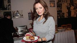 Kateřina Brožová si pochutnala na svatomartinské kachničce.