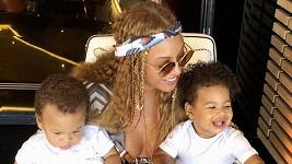 Beyoncé své děti neukazuje příliš často.