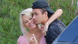 Pamela Anderson se starším synem Brandonem