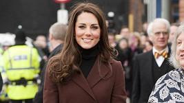 Jako vždy krásná a noblesní vévodkyně Catherine.