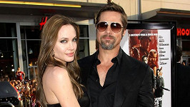 Pitt s manželkou Angelinou Jolie
