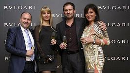 Emanuel Ridi s manželkou Janou a manžely Davidovými.