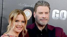 John Travolta zavzpomínal na manželku Kelly Preston.
