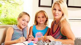 Jennie Garth s dcerkama Lolou a Fionou.