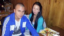 Leo Beránek s přítelkyní Lucií