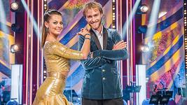 Jakub Vágner se svou taneční partnerkou Michaelou Novákovou