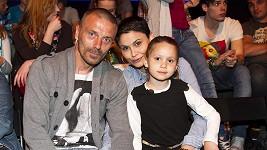 Vlaďka Erbová s Tomášem Řepkou a dcerou Viktorkou.