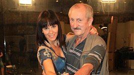 Oldřich Navrátil a jeho učitelka tance Kamila Tománková.