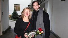Vanda Hybnerová s přítelem Jakubem