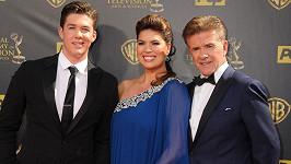 Alan Thicke s manželkou a synem