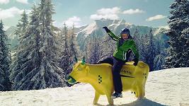 Michael Foret v Alpách.