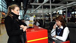 Veronika málem nenastoupila do letadla.