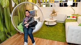 Marta Jandová při hledání nového bytu