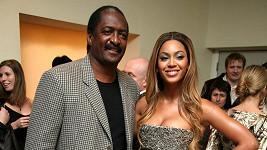 Beyoncé se svým otcem Mathewem Knowlesem