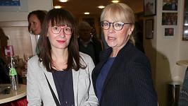 Kateřina Macháčková s dcerou Helenou Zmatlíkovou