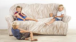 sedačka děti
