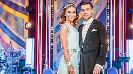 Radka Třeštíková s tanečníkem Tomášem Vořechovským