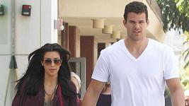 Kim Kardashian se svým snoubencem Krisem Humphriesem.
