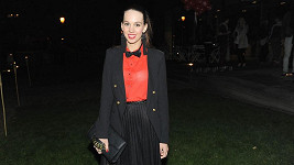 Michaela Doubravová ukázala model, s nějž jí prosvítala podprsenka.