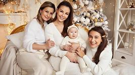 Vánoce strávila s rodinou.