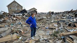 Ilustrační foto. Japonské město Išinomaki po tsunami v roce 2011