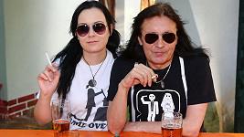 Aleš Brichta a jeho manželka Joanna jsou sladění