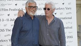 Richard Gere a Jiří Bartoška