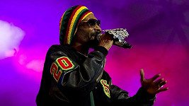 Snoop Dogg během vystoupení v Norsku.