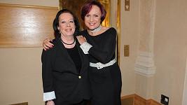 Yvonne Přenosilová a Petra Janů