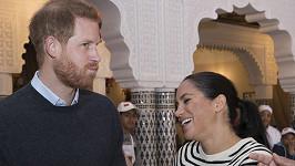 Harry rozesmál těhotnou Meghan vtípkem.