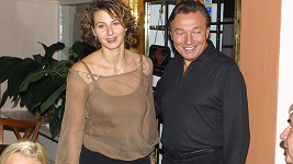 Ivana s Karlem Gottem v roce 2002