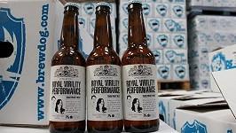 Speciální pivo s Williamem a Kate na etiketě.