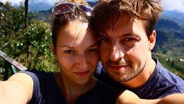Takhle si Pavel Čechák a Berenika Kohoutová užívali dovolenou na Srí Lance.