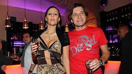 Martin Pouva s přítelkyní Petrou