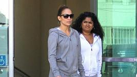 Jennifer Lopez šla nakupovat v teplákovce.
