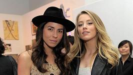 Amber Heard se svou bývalou partnerkou Tasyou Van Ree
