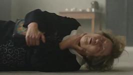 Filmová smrt Simony Stašové alias paní Babkové v Lídě Baarové
