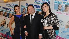 O Paula Pottse se staraly hned dvě krásné brunety, Gábina Partyšová a Andrea Kalivodová.