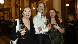 Anna Polívková s maminkou a sestrou