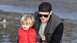 Michael Bublé a jeho syn Noah