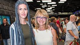 Jana Hubinská s dcerou